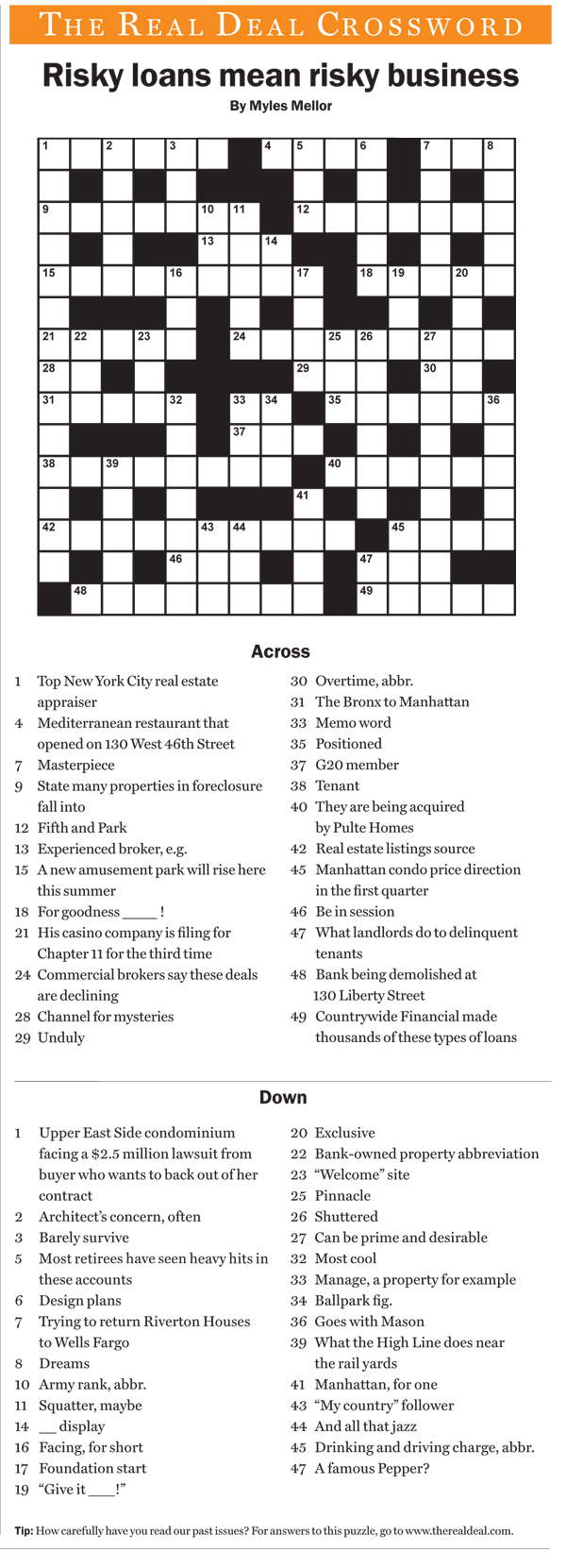 trdMay09crossword