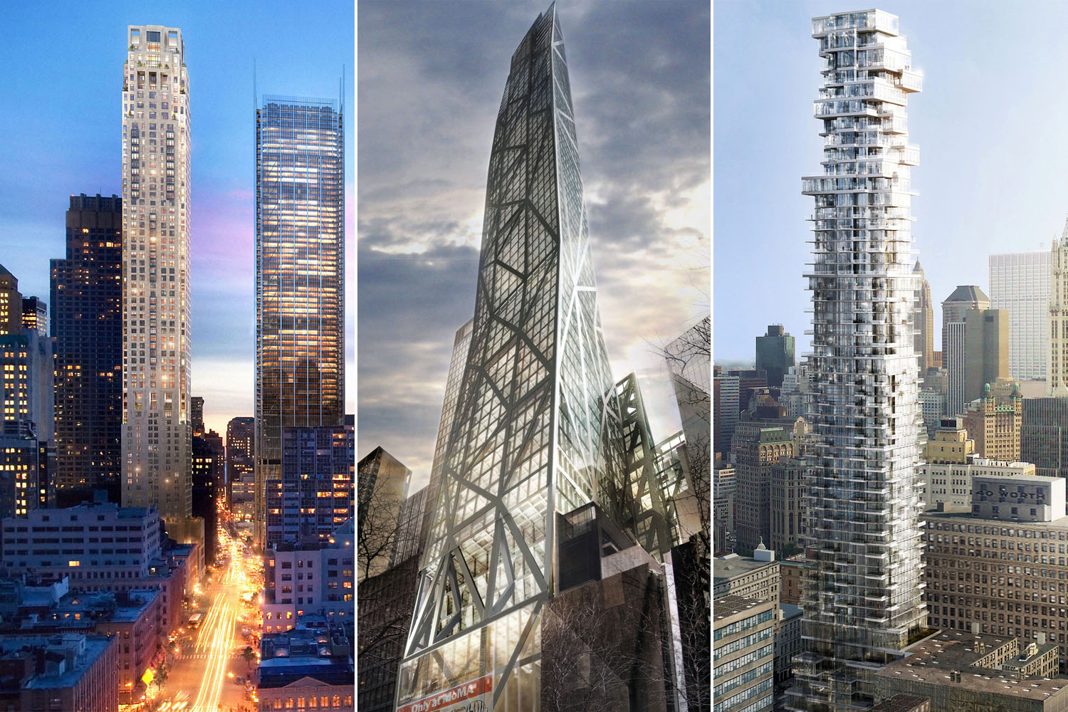 Tall and Thin Skyscraper Renderings: the New Bricks and ...