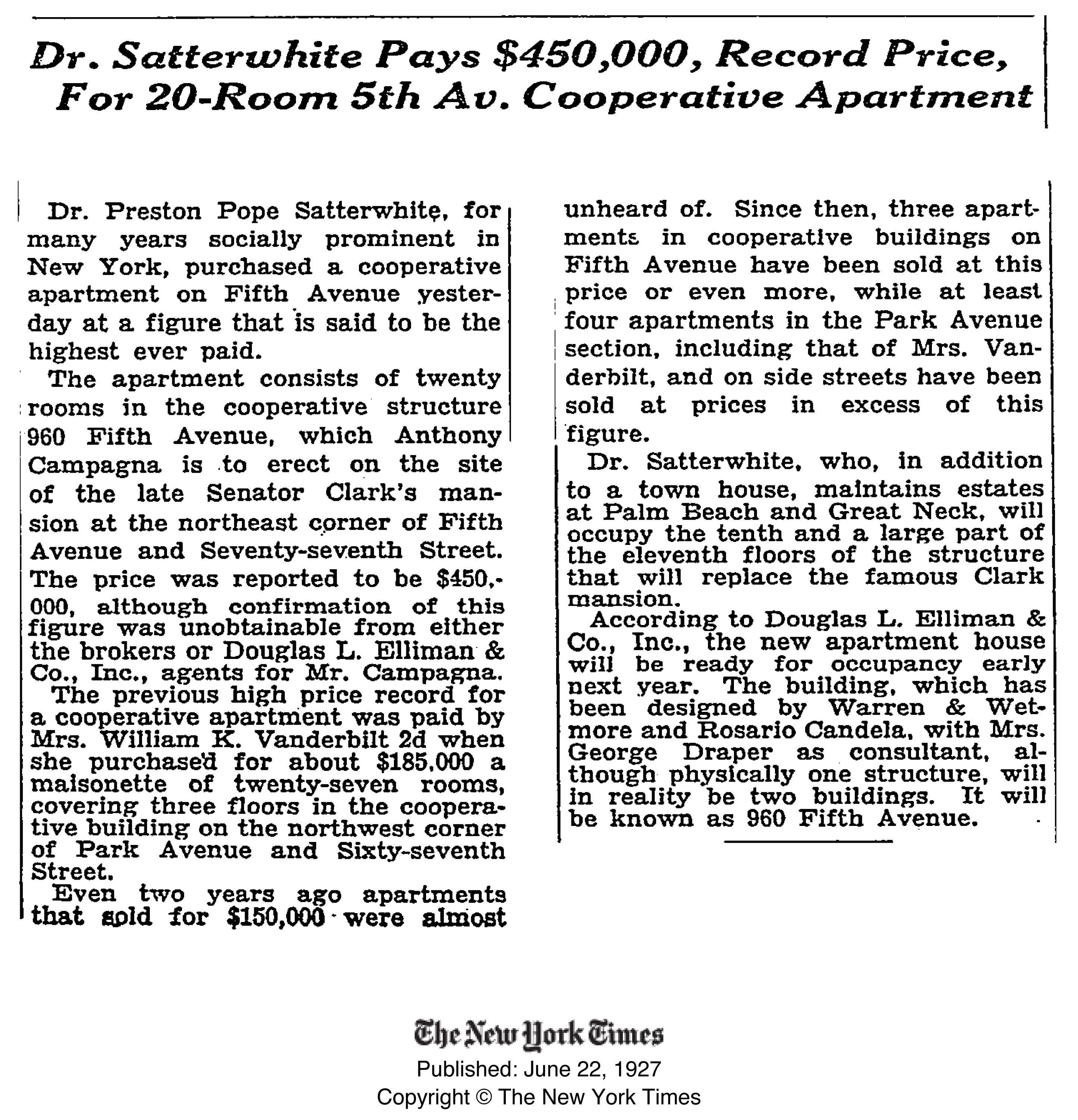 960fifth$450krecord-1927
