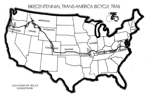 Bikecentennial76map