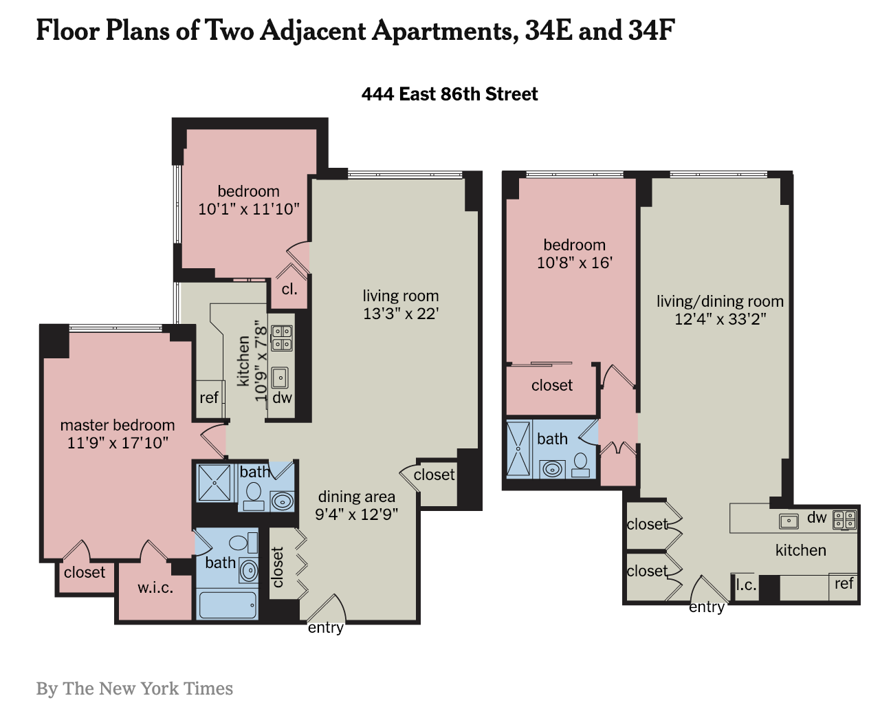 Housing Notes Miller Samuel Real Estate Appraisers Consultants For Example Look At This Crazy Spaghetti Monster Diagram I Believe The Goal Of Combined Layout Is To Provide Something That Doesnt Feel Like A Combination Two Or More Apartments Thats Hard Do